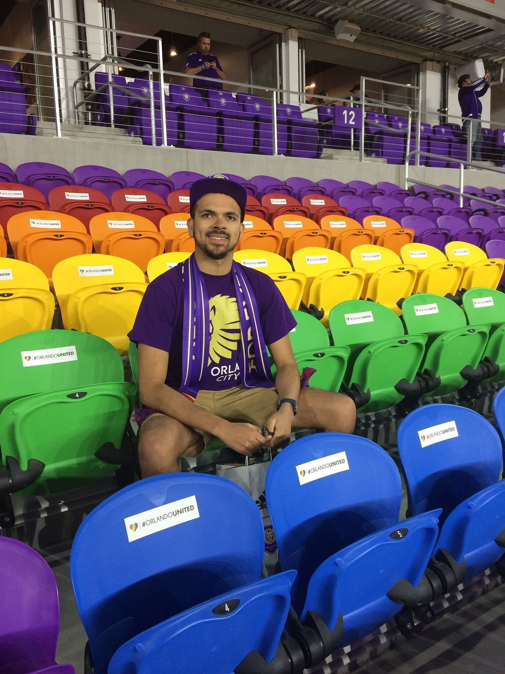 Orlando City UK In The #OrlandoUnited Seating Area