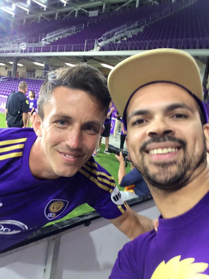 Orlando City UK Meets Lewis Neal