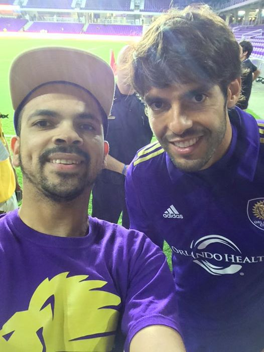 Orlando City UK Meets The Main Man Kaka