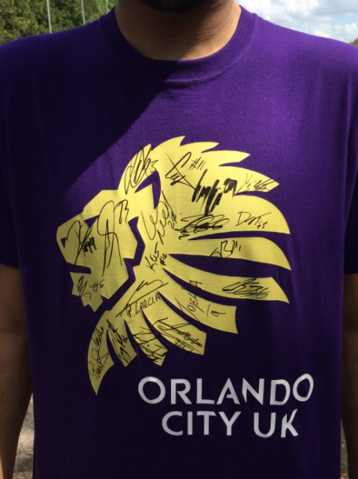 Signed Orlando City UK T-Shirt 2017