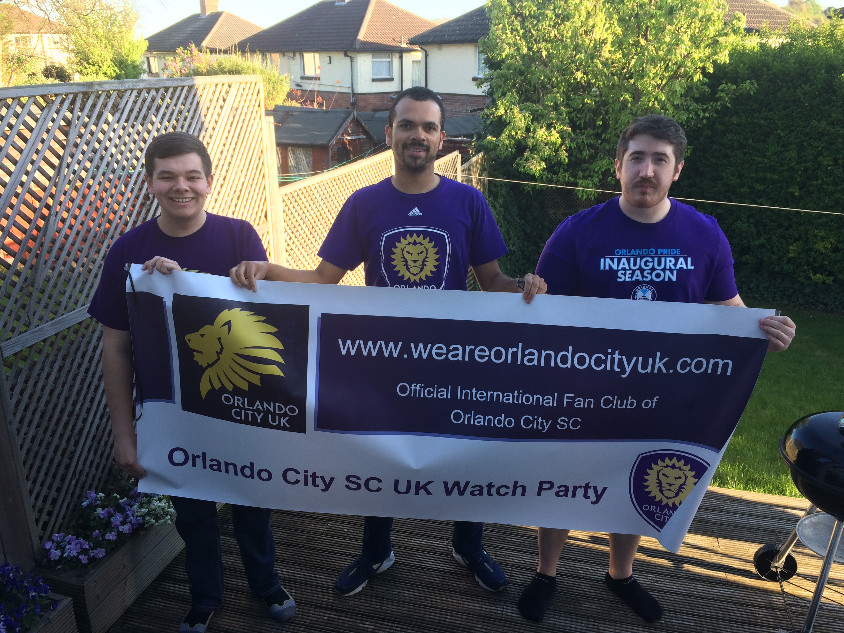 #NYCvORL Orlando City UK Watch Party 1 - 23.04.2017