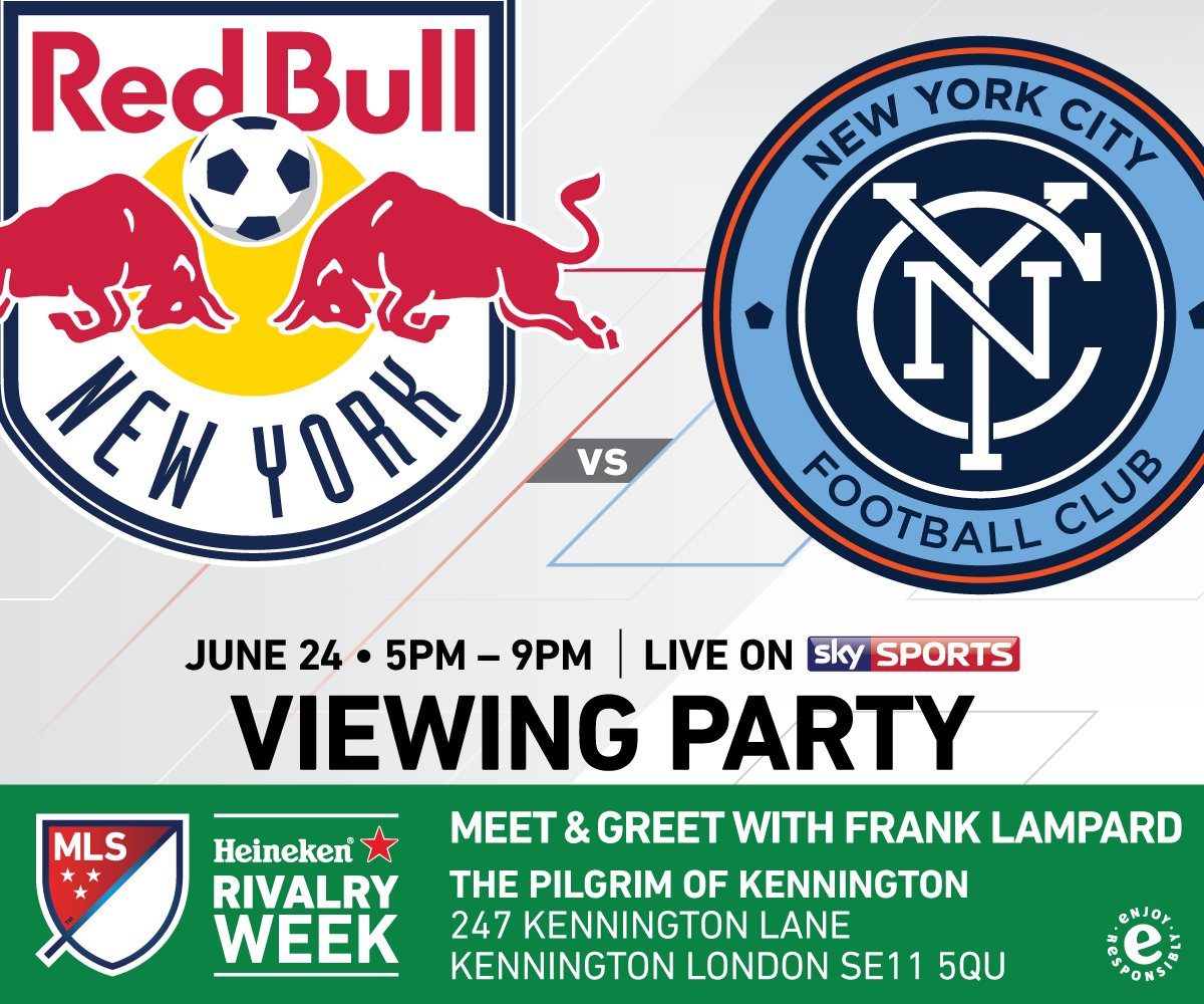MLS Heineken Rivalry Week London Viewing Party – Special Guest Frank Lampard