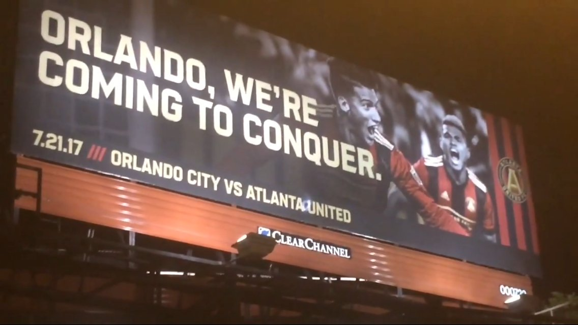 Orlando City SC Twitter reacts to that Atlanta United billboard