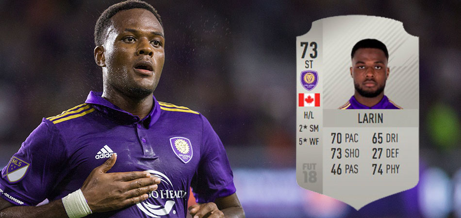 Cyle Larin - FIFA 18 Rating