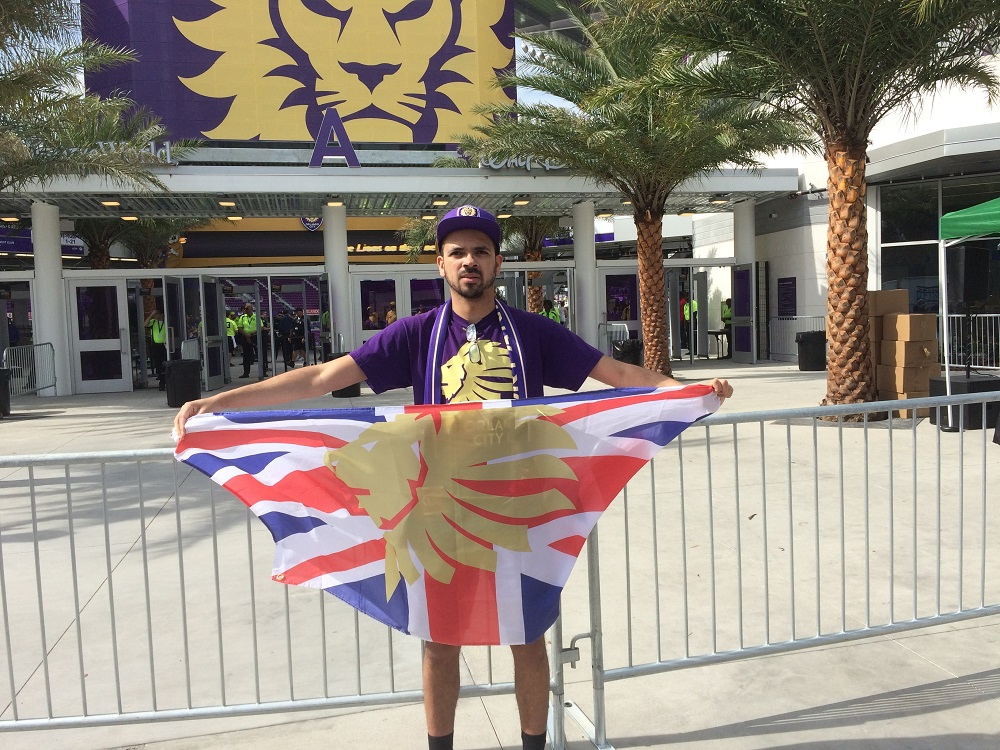 Orlando City UK At Orlando City SC vs New York City FC - March 2017