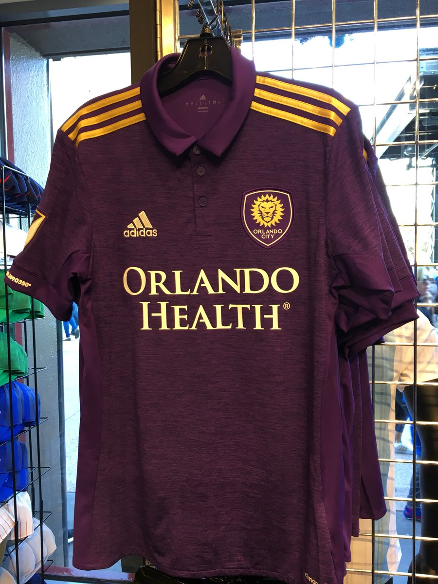 8dcdf426bb0 A subtle new look for the 2018 Orlando City SC home jersey